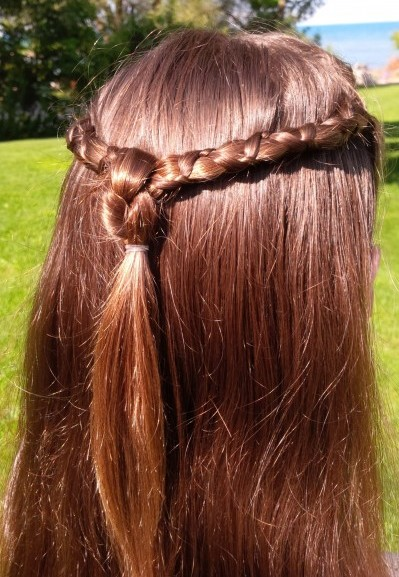 Renaissance Braid With Knot Genuine Girls Club Magazine