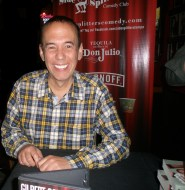 Gilbert Gottfried at Side Splitters Comedy Club, Tampa, FL, 10 October 2015