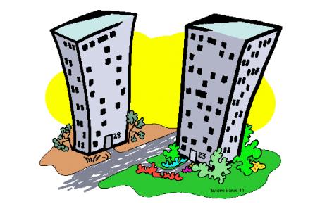 Två hus