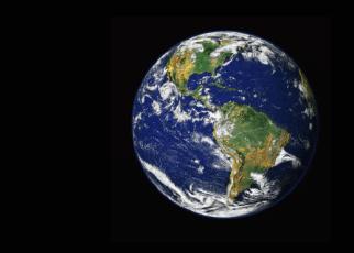 Världen - jordglob