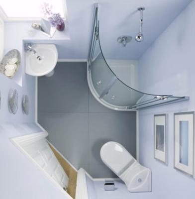 ديكورات حمامات صغيرة جدا وبسيطة تصميمات بسيطة لحمام صغير