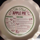 Apple Pie Plate [ Bed Bath & Beyond ]