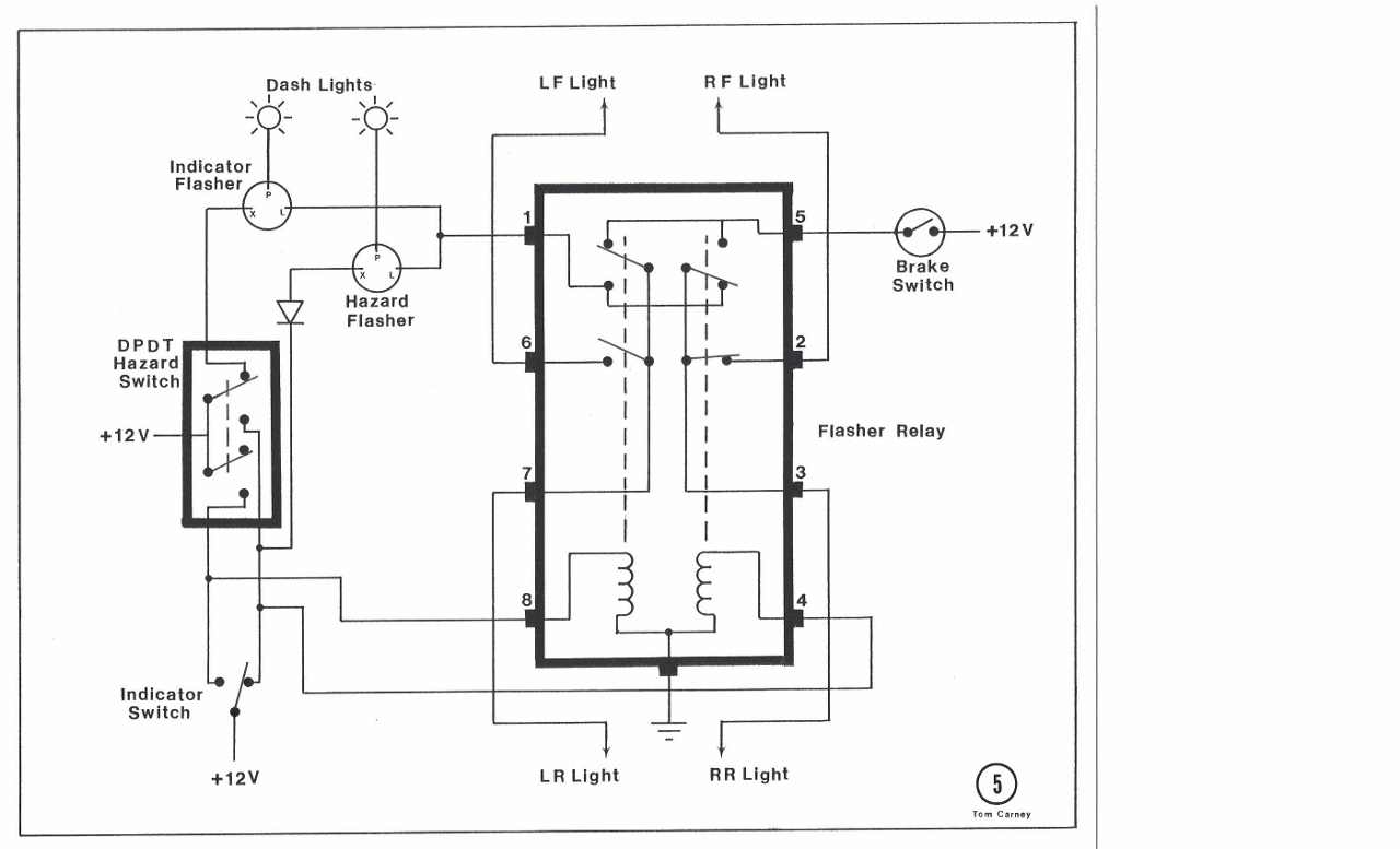 Tr6 Relay Diagram