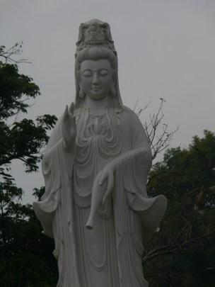 Buddhist statue on West Side of West Lake, Hanoi