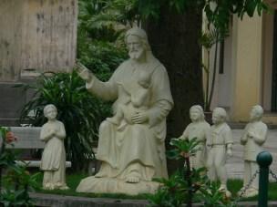 Cửa Bắc Church, Phan Đình Phùng, Quán Thánh, Ba Đình, Hà Nội, Vietnam - with God and followers