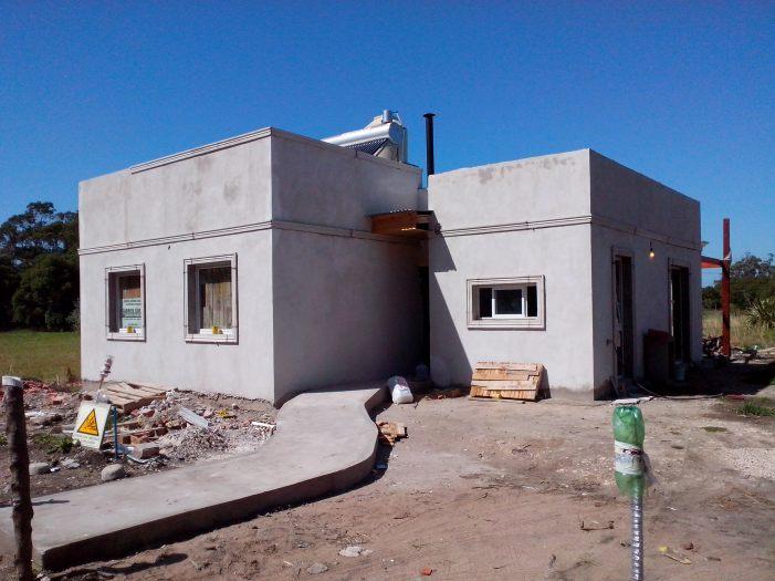Procrear solar + Aislamiento Térmico y calef a leña 3