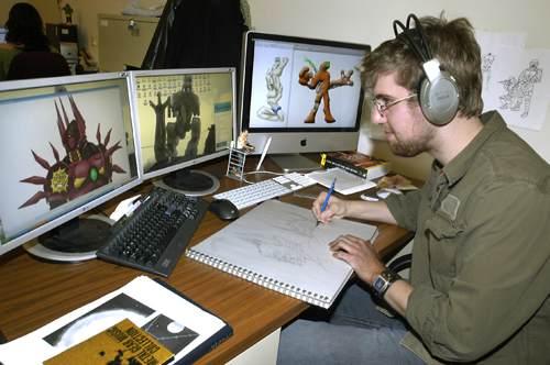 مصمم رسوم متحركة