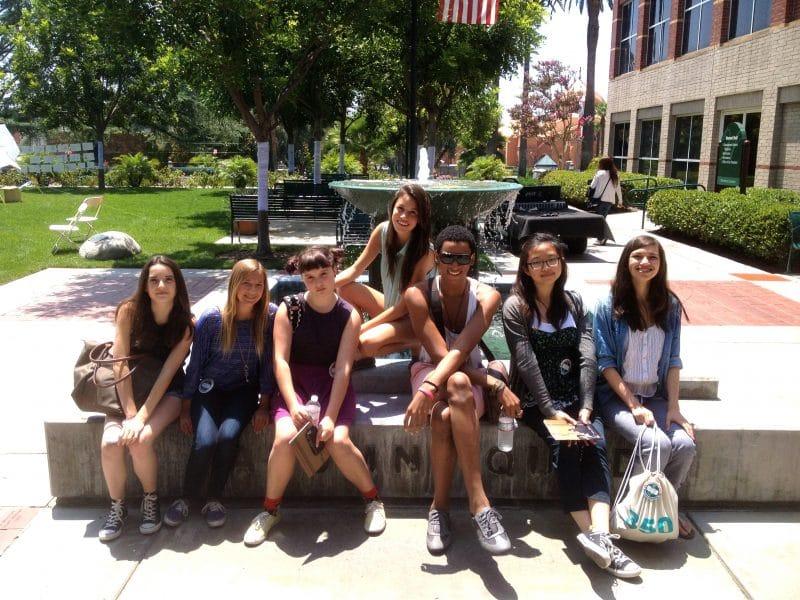 students in woodbury university