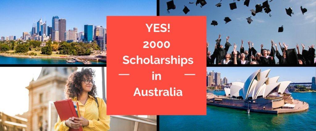 Australian universities offer 2000 Scholarships for international students