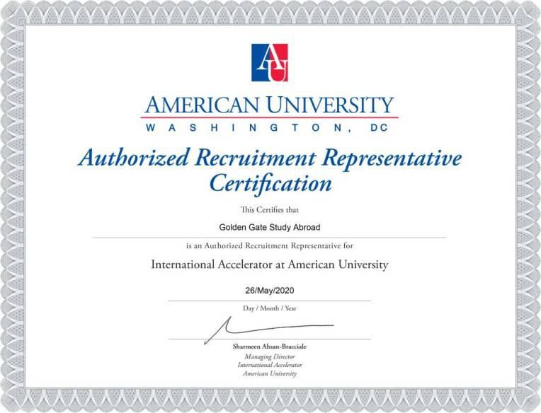 American University Washington .DC