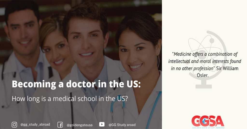 Becoming a doctor in the US: How long is medical school in the US?