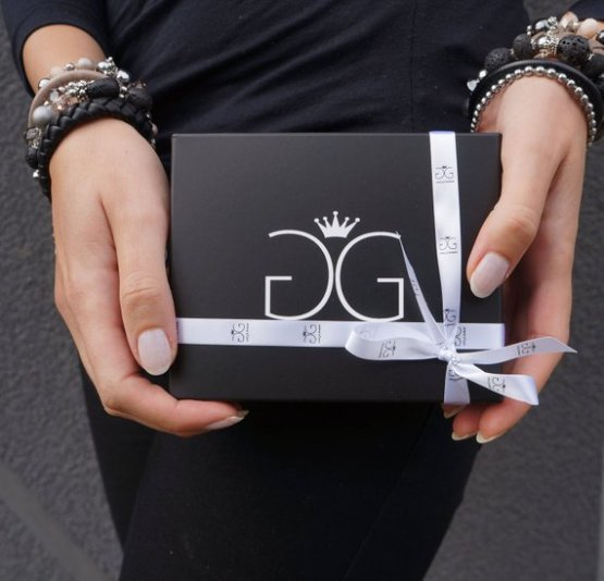 Jewelry gift box by GG UNIQUE