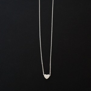 MINIMAL HEART NECKLACE GG UNIQUE