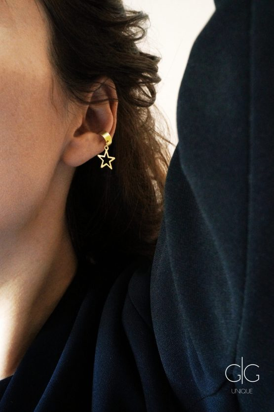 Ear cuff with a star - GG UNIQUE