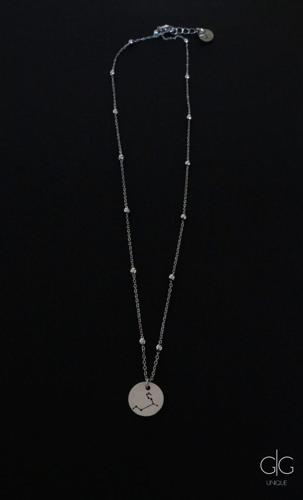 Stainless steel zodiac necklace - GG UNIQUE