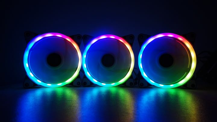 QUICK REVIEW | Xigmatek Galaxy Elite CY120 RGB Fans