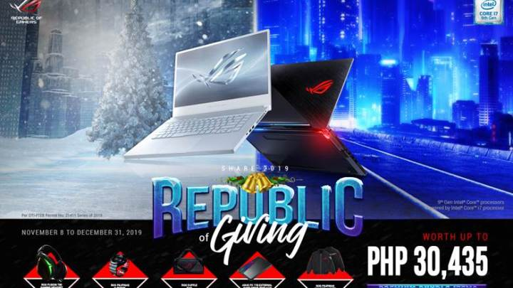 The Republic of Gamers Gives Back to Its Citizens this Holiday Season with Share 2019!
