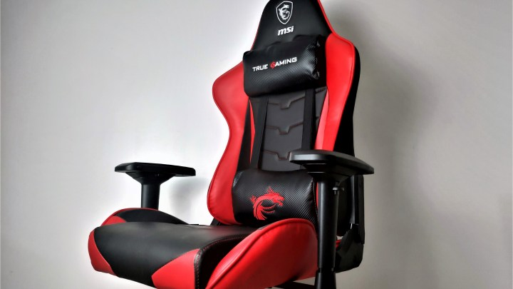 REVIEW | MSI CH120 Gaming Chair: Dragon's Throne