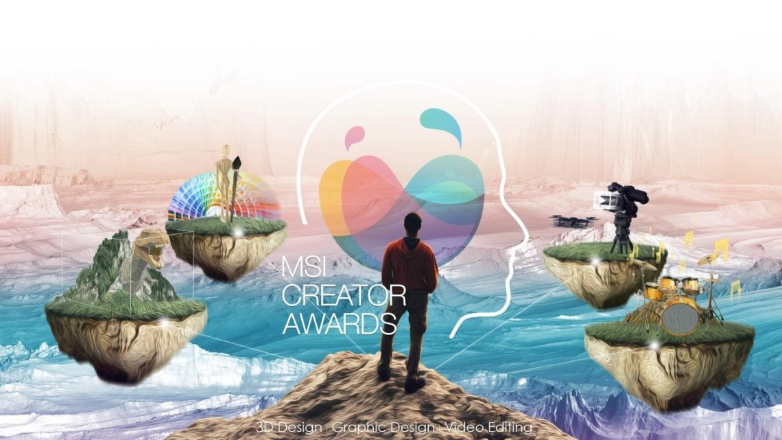 Show Off Your Creativity in the MSI Creator Awards 2020 Now Open for Entries
