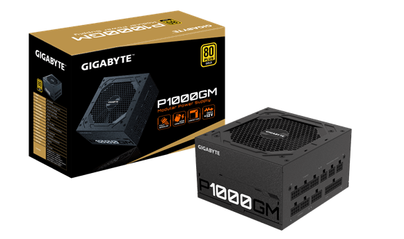 GIGABYTE Launches P1000GM Power Supply