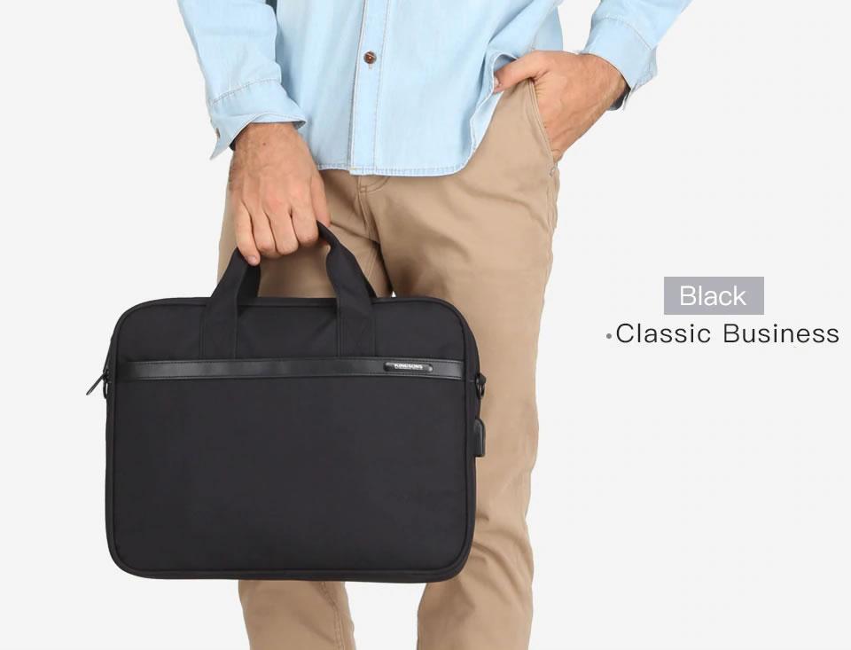 Meet Kingsons Digital Handbag: A Water-Resistance Laptop bag for Business Men and Women