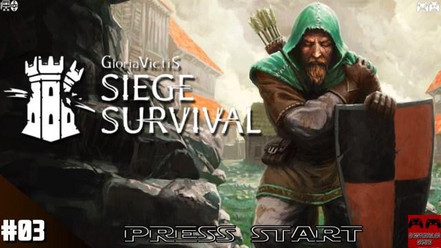 [PRESS START 03] La ville est assiégée sur Siege Survival