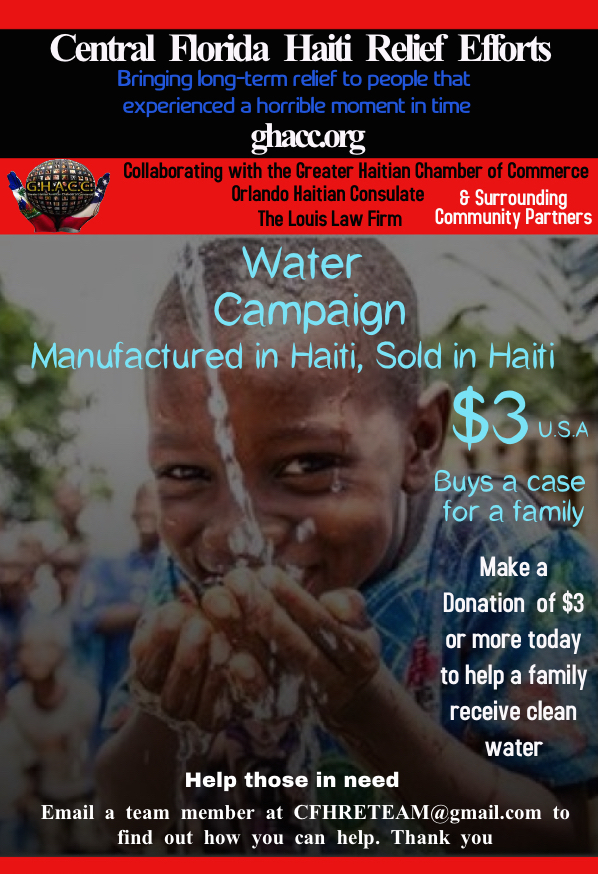Water Campaign Flyer