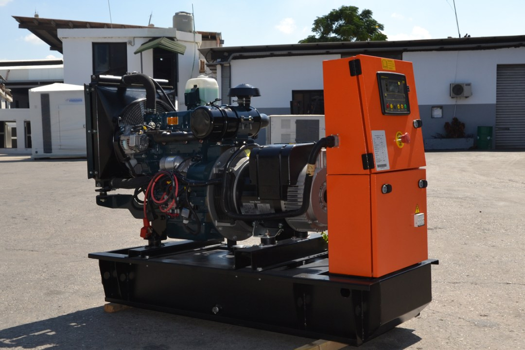 Ghaddar Generator KT36 – KT40S (1500 rpm) powered by Kubota Image