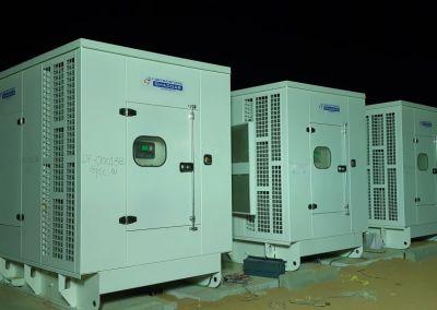 Ghaddar Machinery Co. Saudi Arabia is Powering Aramco workers camp in Riyadh