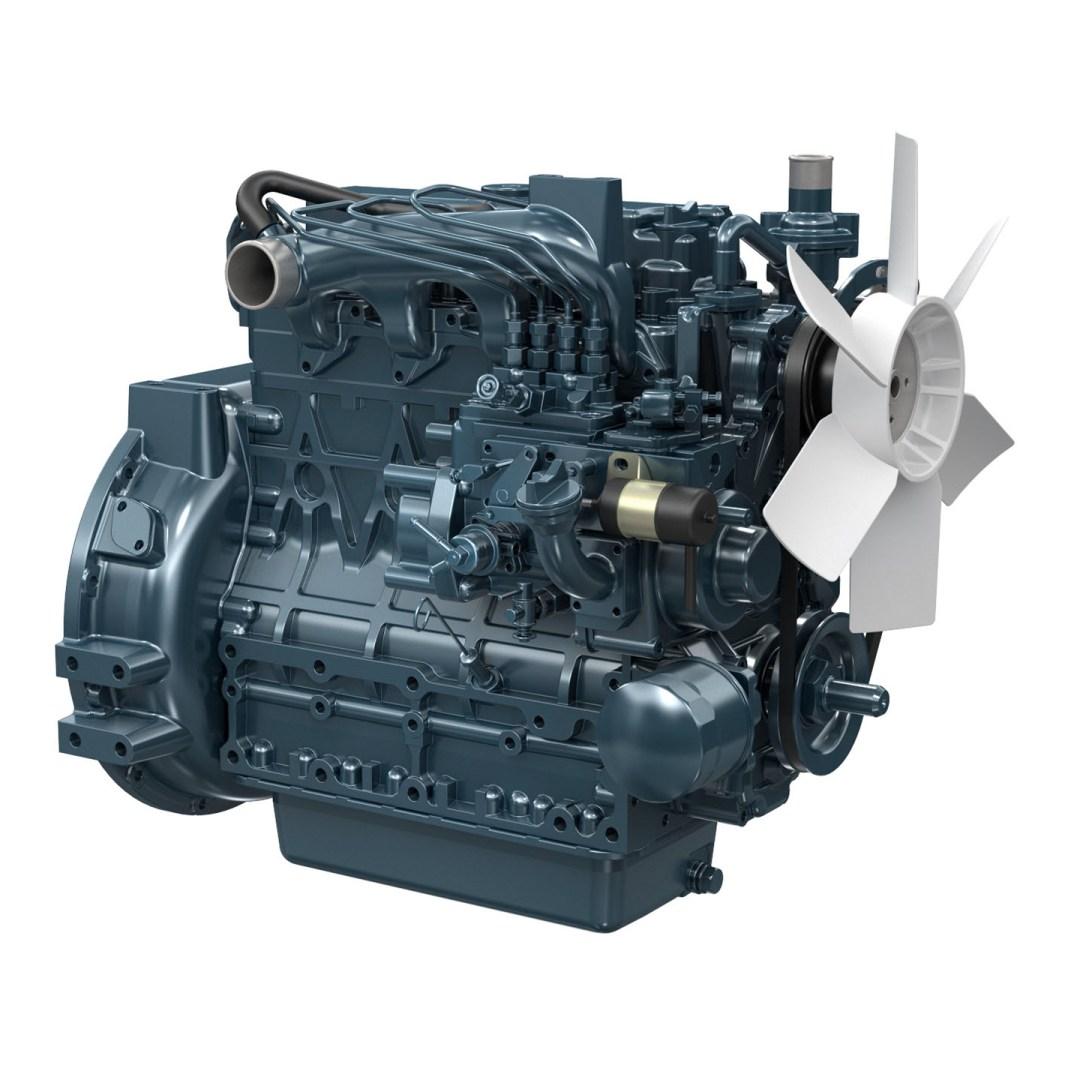 Kubota Engine V2203-E2BG - 20KVA 50Hz / 24KVA 60Hz Image