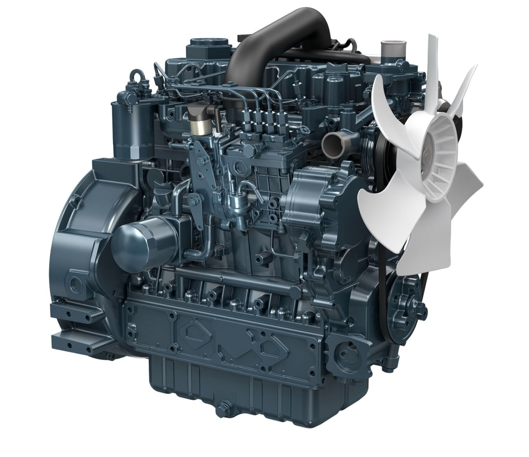 Kubota Engine V3300-T-E2BG - 45KVA 60Hz Image