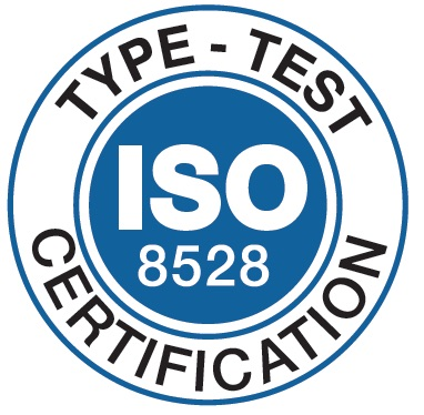 2015 - GHADDAR Generating sets Type Test certification by Bureau Veritas according to ISO8528-8 standard