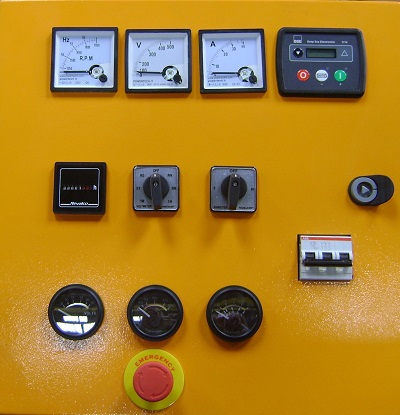 Control Panel GMP 103 With Deep Sea Controller 3110 Image