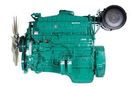Cummins Diesel Engine NTA855-G4-365 KVA Switchable Image