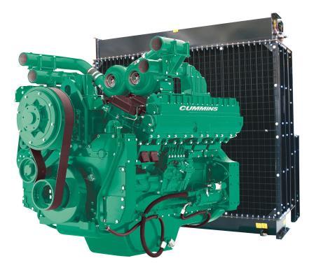 Cummins Diesel Engine QST30-G3 60Hz- 1000 KVA Switchable Image