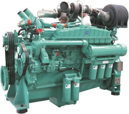 Cummins Diesel Engine VTA28-G5-640KVA 1500rpm Switchable Image