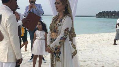 """صورة حصريا على """"غالية"""".. كواليس زفاف الأحلام لعروس مغربية بالمالديف"""