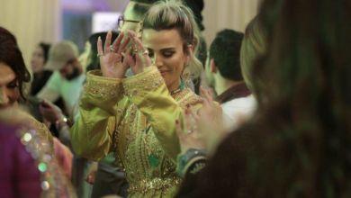 """صورة بالصور.. زوجة ريضوان ترقص بعرس ماريا نديم على أنغام الشعبي مع """"مول البندير"""""""