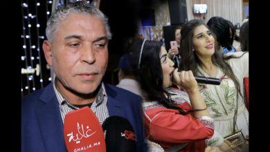 صورة بالفيديو.. رد فعل الستاتي بعد سؤاله عن غياب إبنته إلهام عن عرس شقيقتها