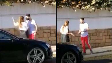 """صورة بدر سلطان يكشف لـ""""غالية"""" حقيقة الفيديو المتداول له وهو يضرب حبيبته بالشارع العام!"""