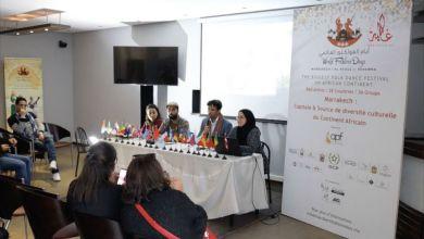 صورة بالفيديو.. مراكش تحتضن الدورة الثانية من مهرجان الفلكلور العالمي