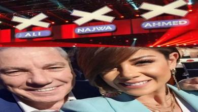 صورة ليلى الحديوي مباشرة من استوديو Arabs Got Talent