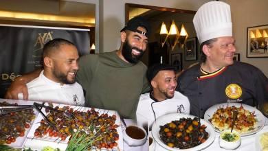 """صورة بالفيديو.. مطعم""""NICOLE"""" بالبيضاء يستعرض لحومه المستوردة من أوروبا بحضور أهم الطباخين العالميين"""