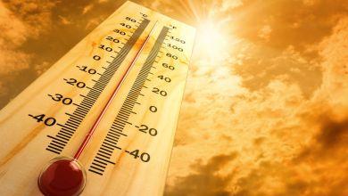صورة استمرار ارتفاع درجات الحرارة إلى هذا التاريخ
