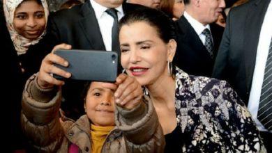 صورة شقيقة الملك محمد السادس تحل بطنجة في رحلة على متن البراق