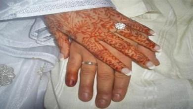صورة بالصورة.. ممثلة مغربية شهيرة تشارك صورها بزي عروس