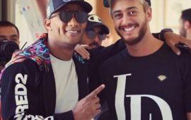 """سعد لمجرد ومحمد رمضان يشعلان مسرح دبي بأغنية """"انساي""""- فيديو"""
