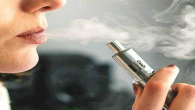 صورة السجائر الإلكترونية تؤدي إلى الوفاة!