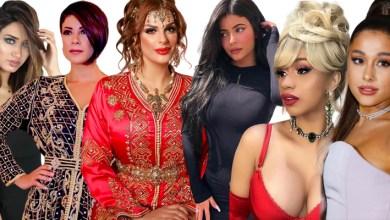 """صورة بالصور..فنانات بينهن مغربيات يتألقن بأزياء """"الهالوين"""""""