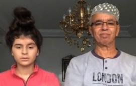 فيديو بكاء والد الكوميدية كوثر بامو يُشعل وسائل التواصل الاجتماعي